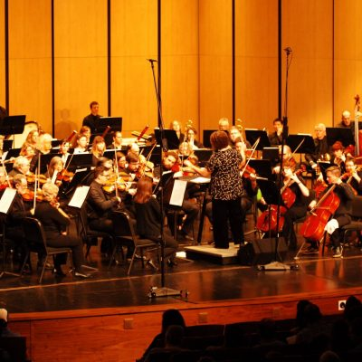 Austin Civic Orchestra performs at the AISD Performing Arts Center