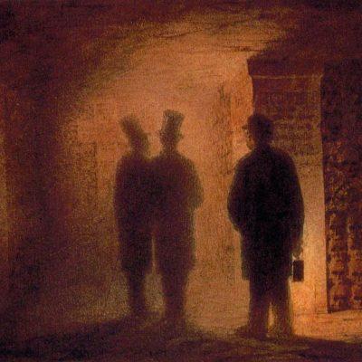 Artwork of Paris Catacombs